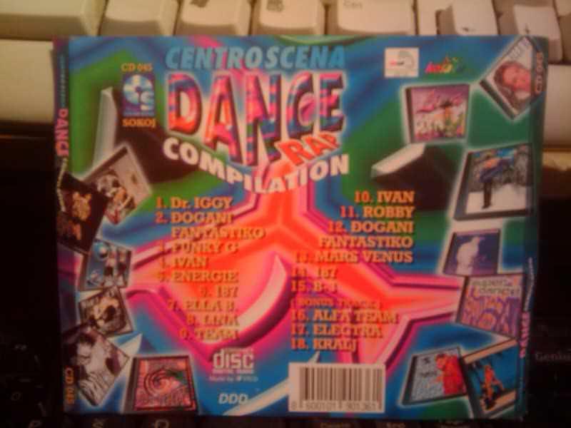 Various  Artists - Dance Rap Compilation