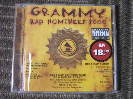 Various  Artists - Grammy Rap Nominees 2000
