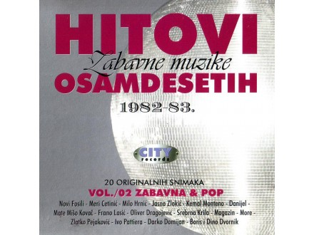 Various  Artists - Hitovi Zabavne Muzike Osamdesetih (1982 - 83)  Vol.02