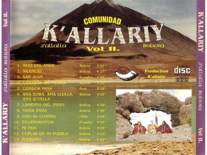Various  Artists - K` Allaria J`Allalla Bolivia Vol. 2