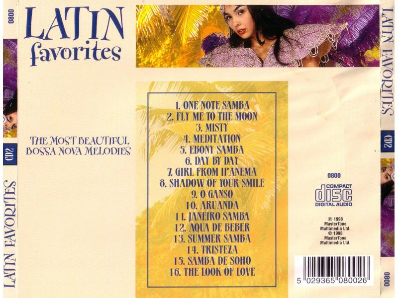 Various  Artists - Latin Favorites CD2