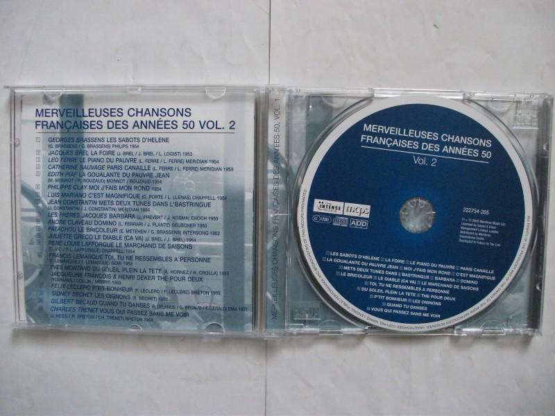 Various  Artists - MERVEILLEUSES CHANSONS FRANCAISES DES ANNEES 50 vol.2