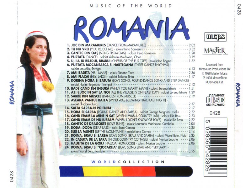 Various  Artists - Music of The World - Romania