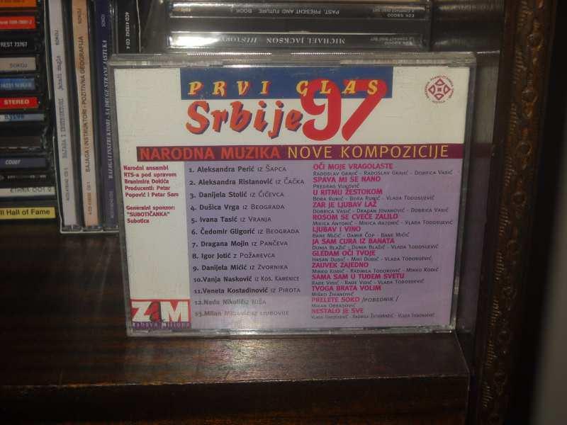 Various Artists - Prvi Glas Srbije 97  Narodna Muzika