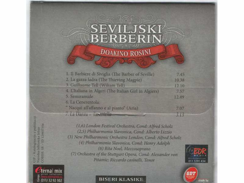 Various  Artists - SEVILJSKI BERBERIN