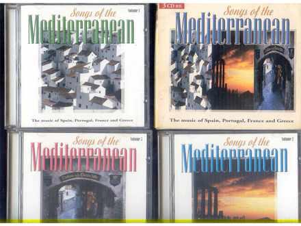 Various  Artists - SONGS OF THE MEDITERRANEAN