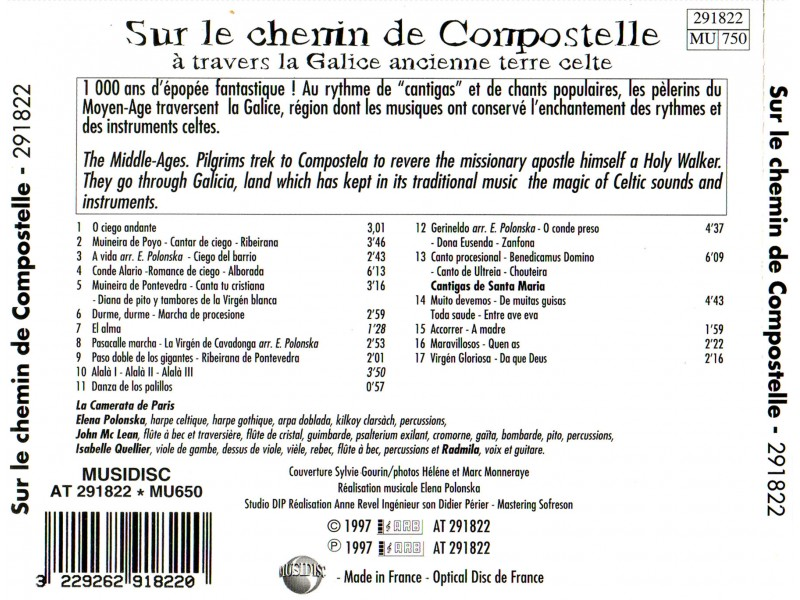 Various  Artists - Sur Le Chemin de Compostelle