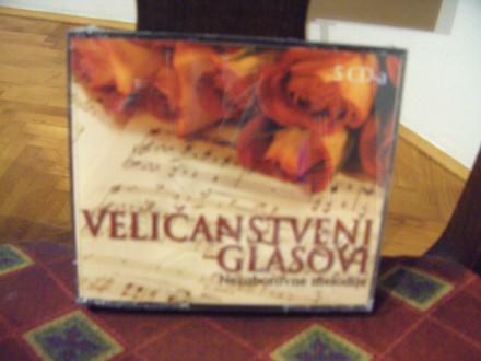 Various  Artists - Veličnastveni glasovi, 5xcd