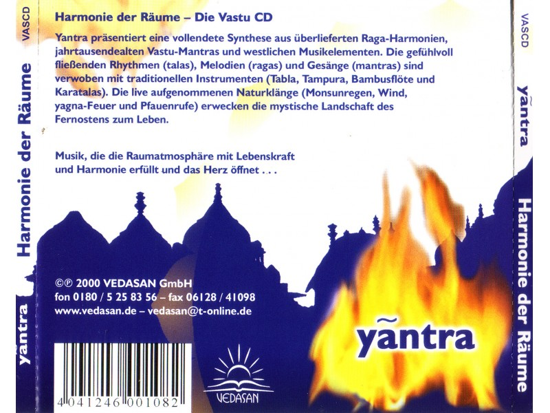 Various  Artists - Yantra - Harmany of Space