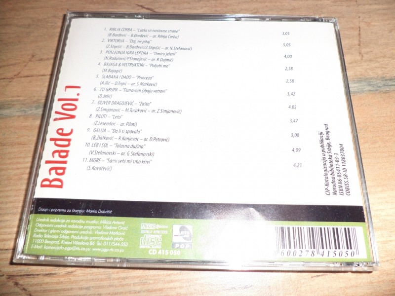 Various - Balade Vol. 1