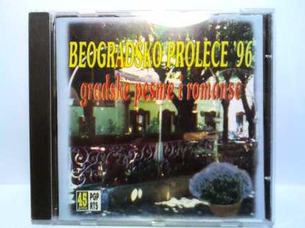 Various - Beogradsko Proleće `96 - Gradske Pesme I Romanse