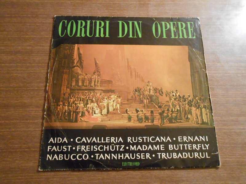 Various - Coruri Din Opere: Aida · Cavalleria Rusticana · Ernani · Faust · Freischütz · Madame Butterfly · Nabucco · Tannhäuser · Trubadurul