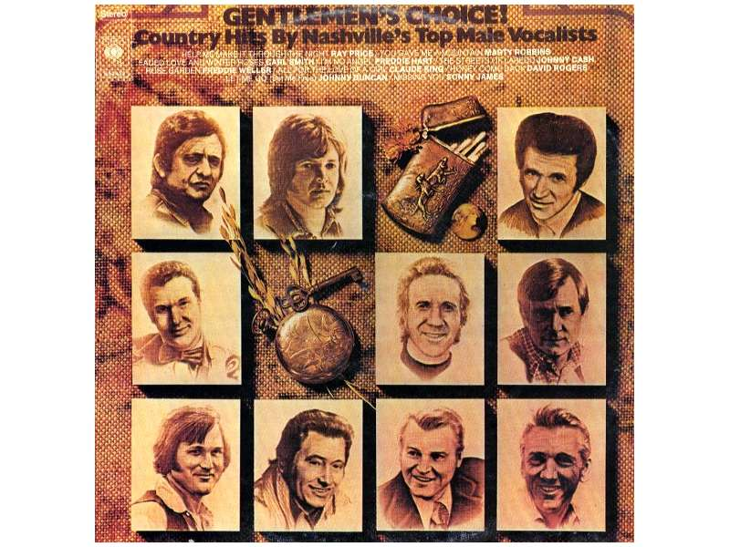 Various - Country Hits By Nashville`s Top Male Vocalists