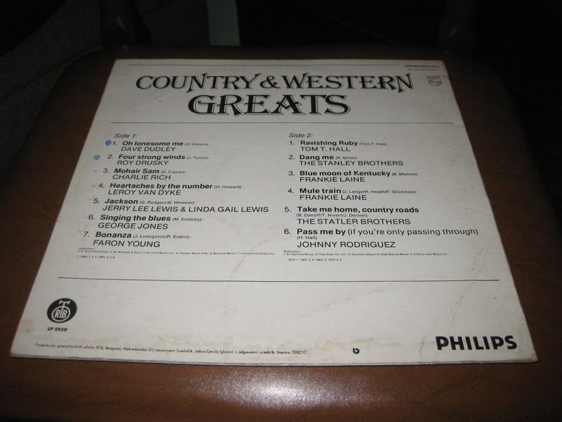 Various - Country & Western Greats