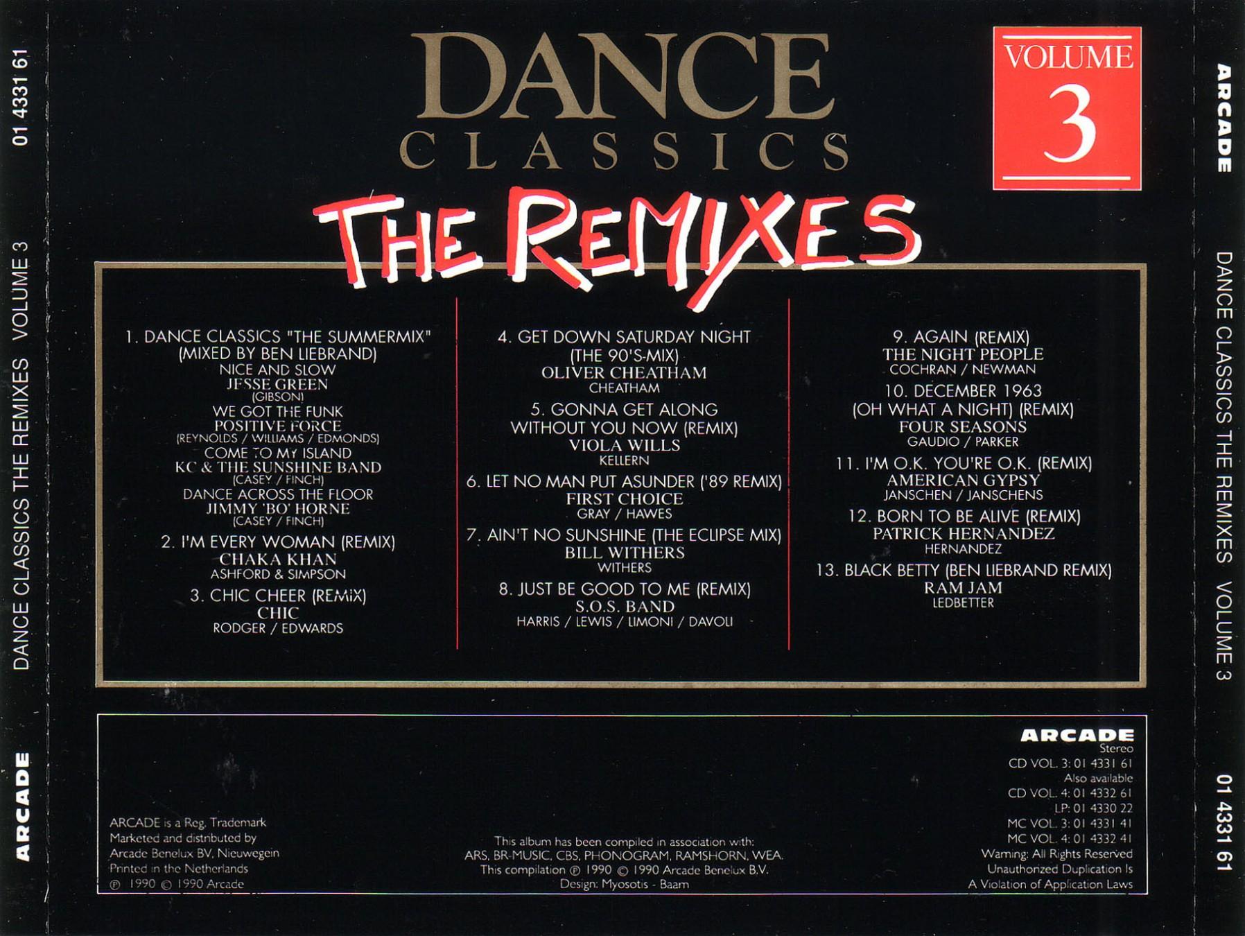 Various - Dance Classics - Pop Edition Vol. 11