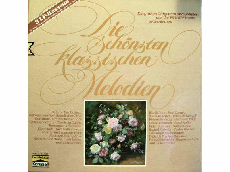 Various - Die Schönsten Klassischen Melodien 3LP
