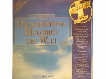 Various - Die Schönsten MelodienDerWelt-Die Goldene2LP