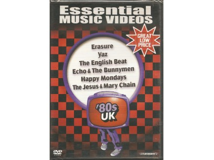 Various - Essential Music Videos-`80s UK