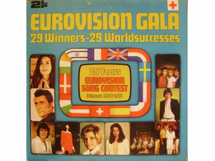Various - Eurovision Gala - 29 Winners - 29 Worldsuccesses