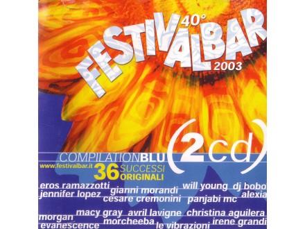 Various - Festivalbar 2003 Compilation Blu