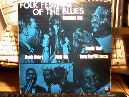 Various - Folk Festival Of The Blues