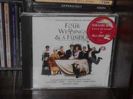Various - Four Weddings And A Funeral (4 Mariages Et Un Enterrement)