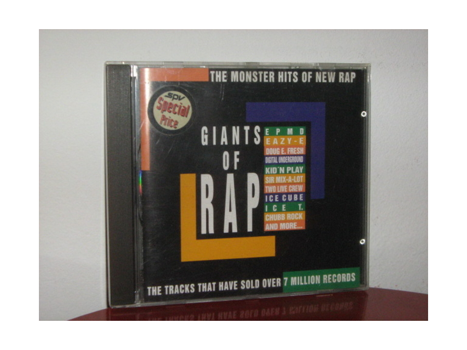 Various - Giants Of Rap