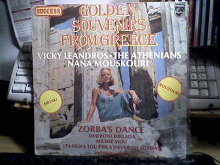 Various - Golden Souvenirs From Greece