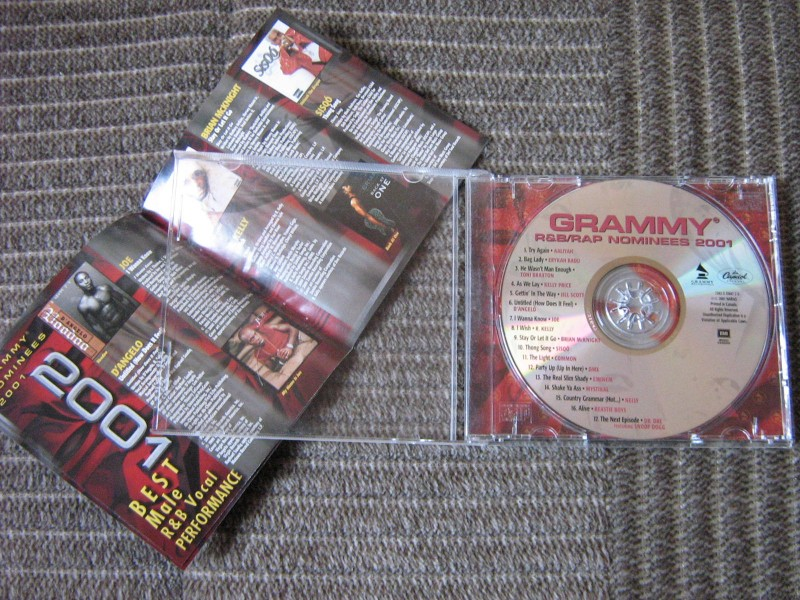 Various - Grammy R&B / Rap Nominees 2001