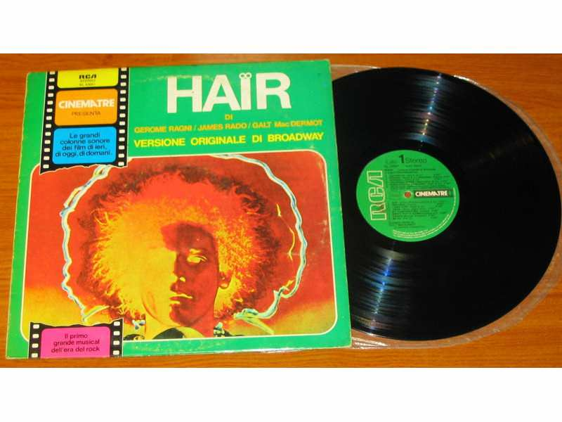 Various - Hair - The American Tribal Love-Rock Musical - The Original Broadway Cast Recording