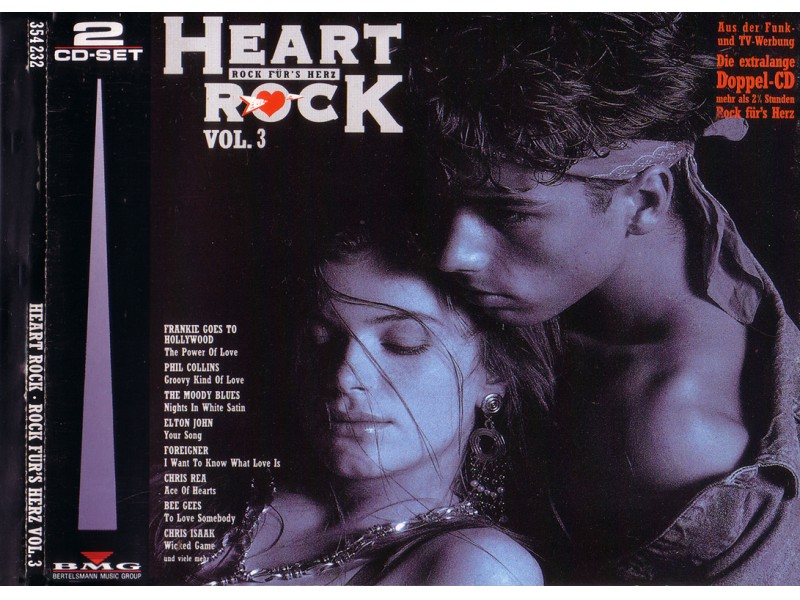 Various - Heart Rock - Rock Für`s Herz Vol. 3