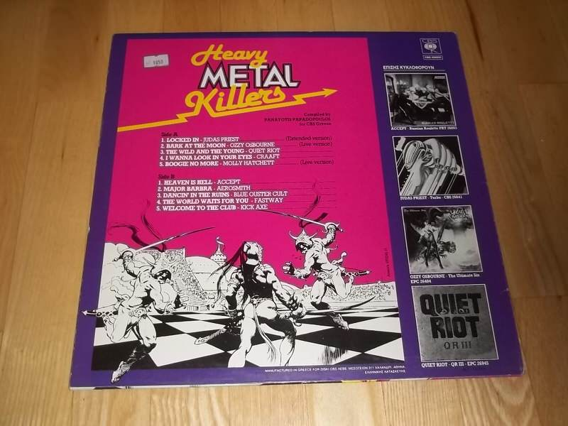 Various - Heavy Metal Killers