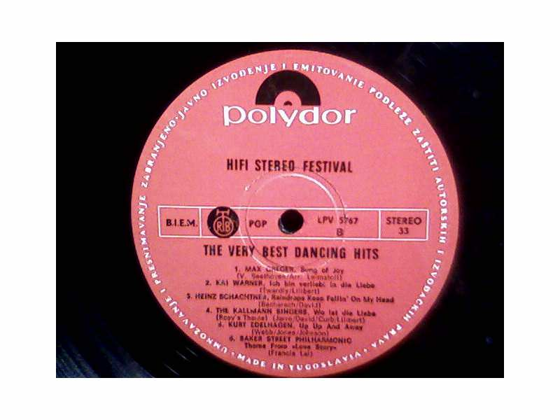 Various - Hifi Stereo Festival - The Very Best Dancing Hits