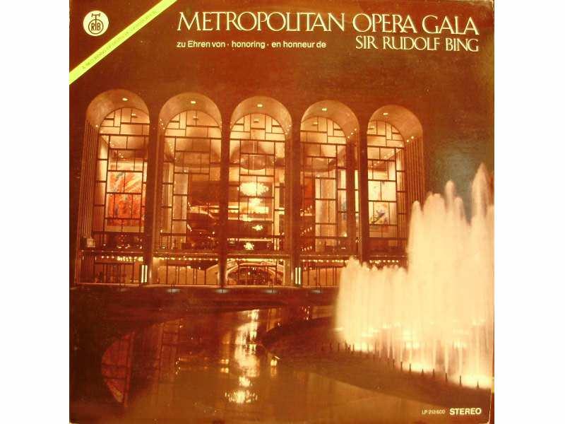 Various - Highlights From Metropolitan Opera Gala Honouring Sir Rudolph Bing
