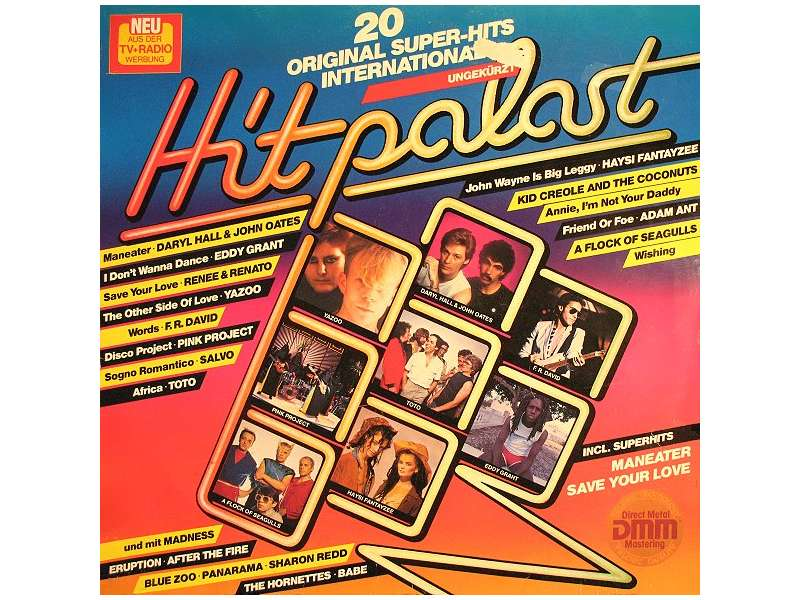 Various - Hitpalast - 20 Original Super-Hits International