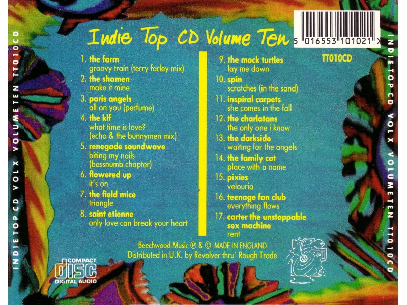 Various - Indie Top CD Volume 10