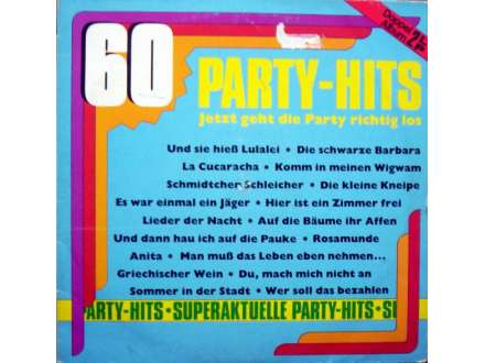 Various - Jetzt Geht Die Party Richtig Los - 60 Super-Party-Knüller