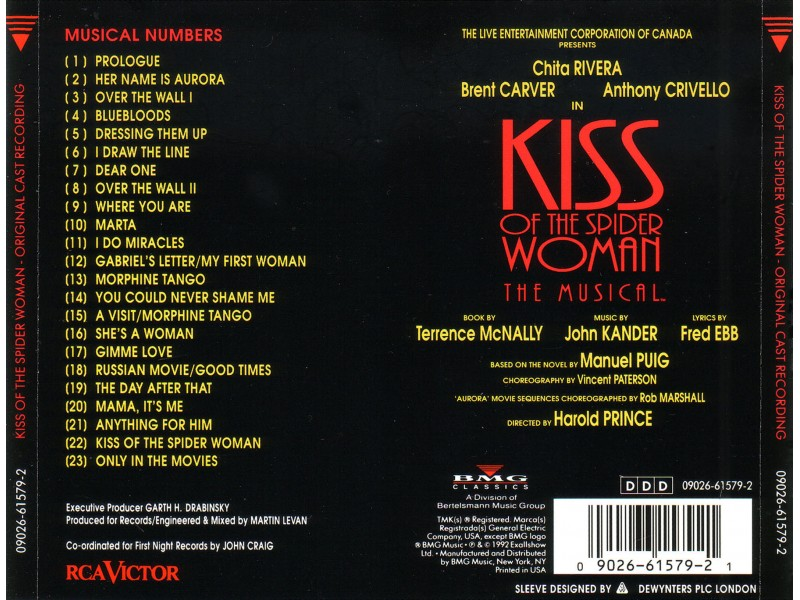 Various - Kiss Of The Spider Woman