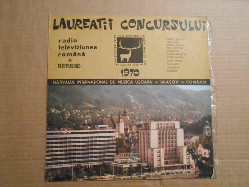 Various - Laureaţii Concursului  ''Cerbul De Aur'' `70