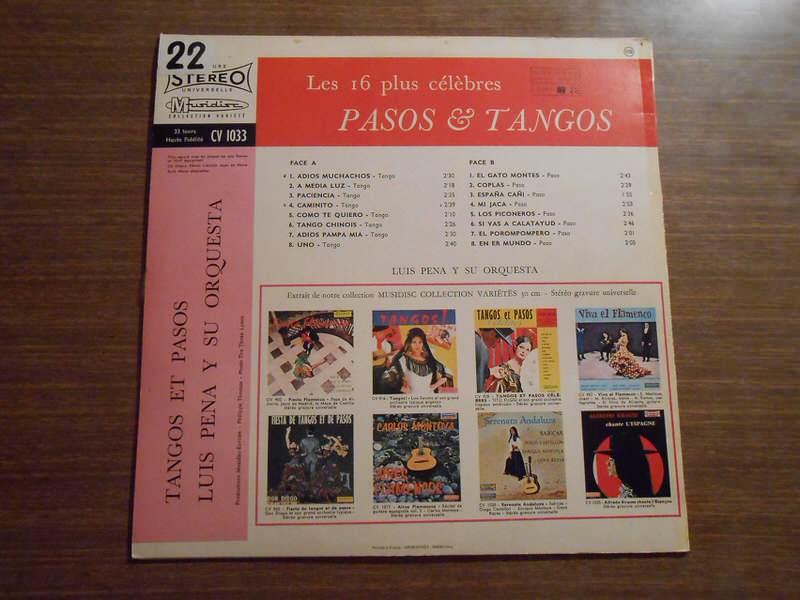 Various - Les 16 Plus Célèbres Pasos & Tangos