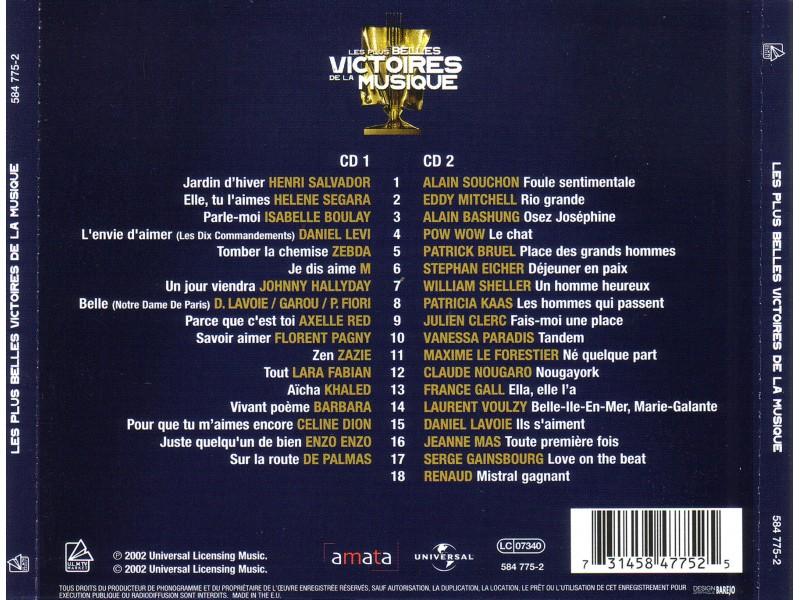 Various - Les Plus Belles Victories de la Musique