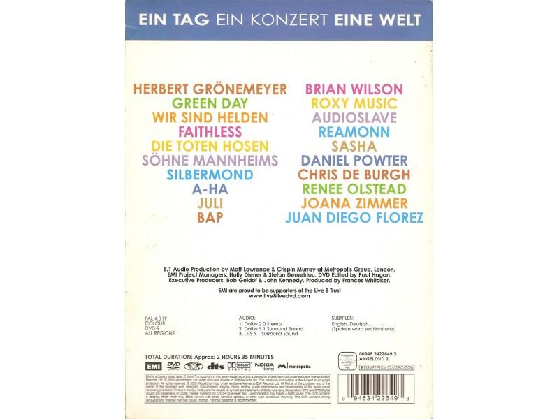 Various - Live 8 Berlin