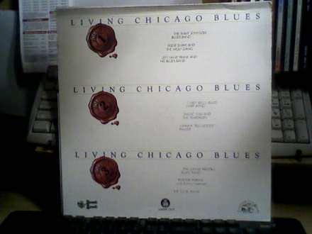 Various - Living Chicago Blues - 3 X LP