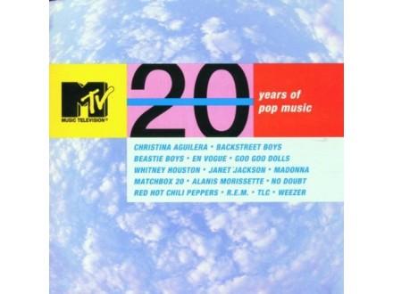 Various - MTV - 20 Years Of Pop
