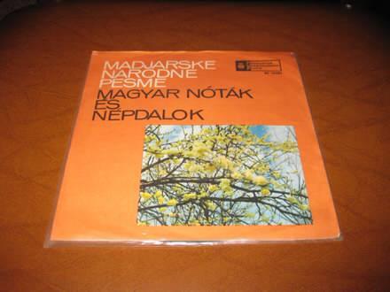 Various - Madjarske Narodne Pesme - Magyar Nóták És Népdalok