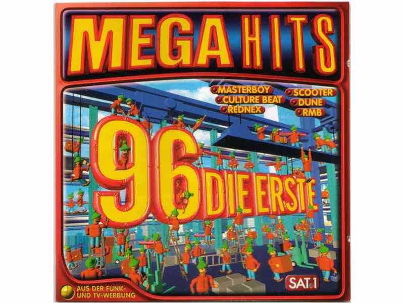 Various - Mega Hits 96 Die Erste