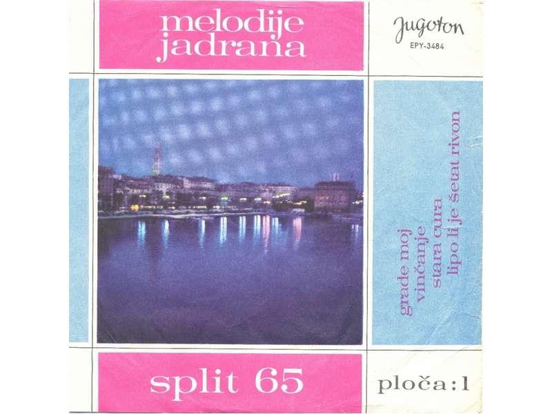 Various - Melodije Jadrana 1. - Split 65