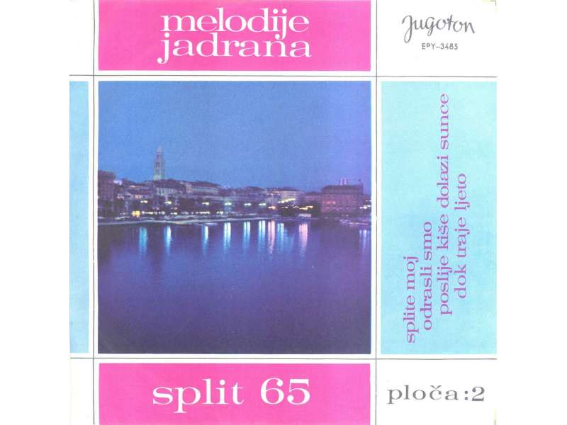 Various - Melodije Jadrana 2. - Split 65