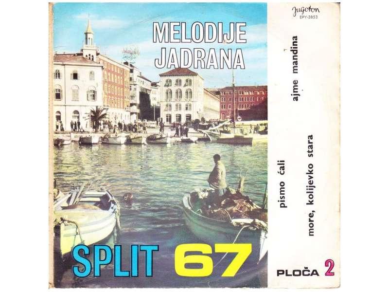 Various - Melodije Jadrana 2. - Split 67