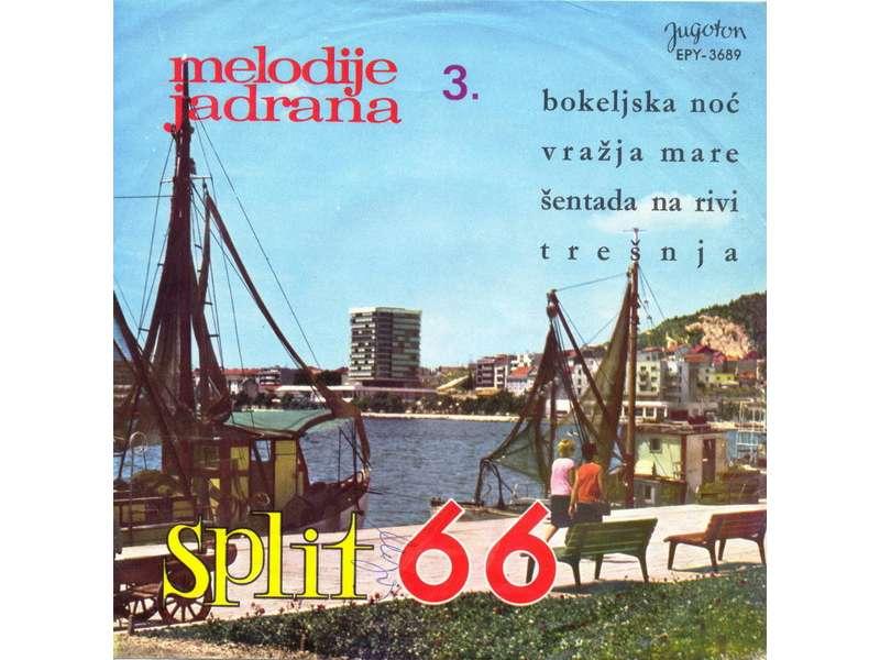 Various - Melodije Jadrana 3. - Split 66